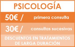 tarifas psicologia