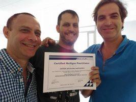 Junto a Francisco Neto y Yuval David